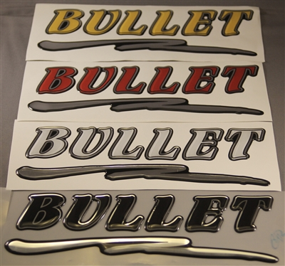 Lids Custom Hats >> SMALL BULLET FLARE DECAL, USED ON TRAILER BOW STOPS AND ...